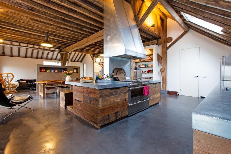 Woonkamer betonvloer beste inspiratie voor huis ontwerp for Huis interieur ideeen